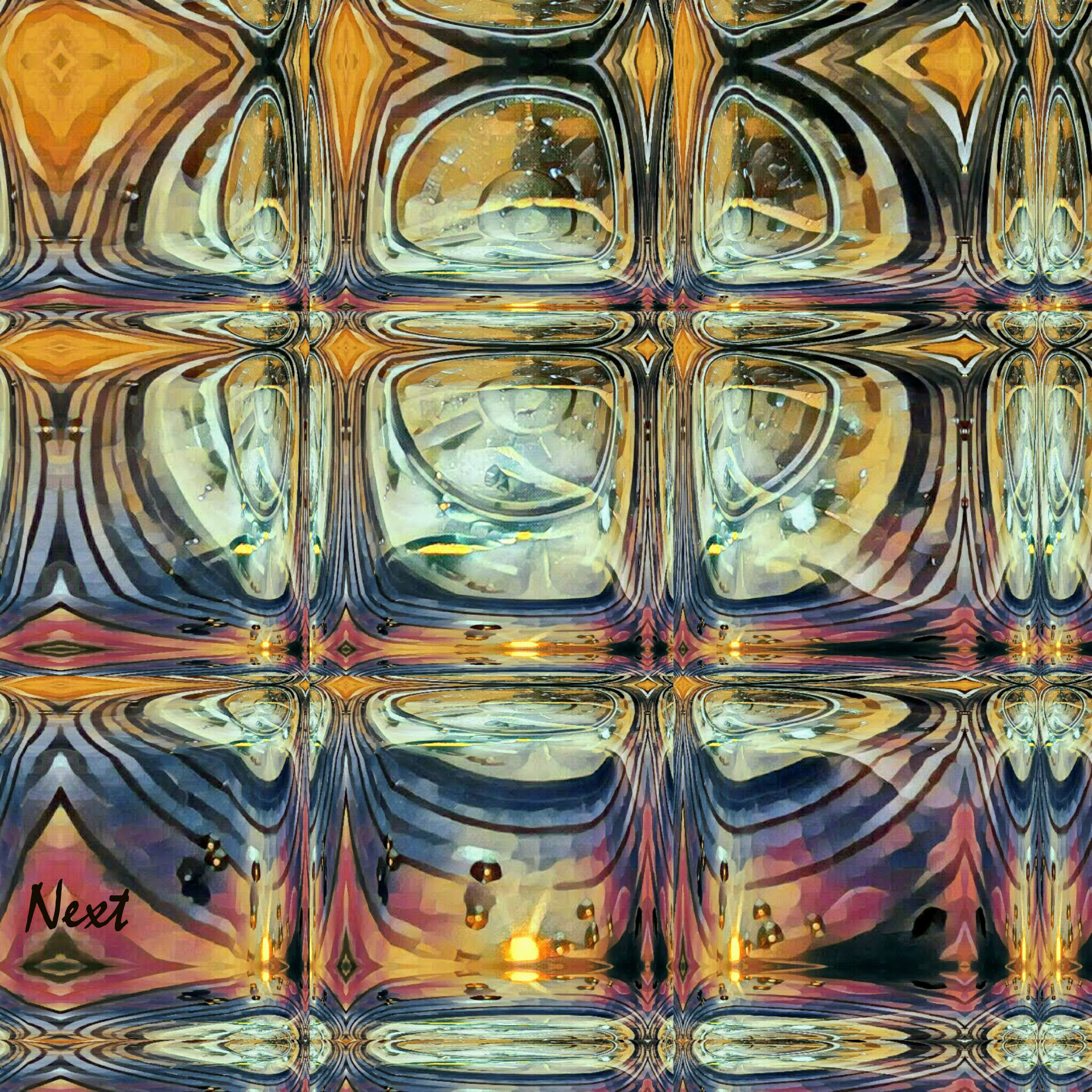 Variation on a waterglass