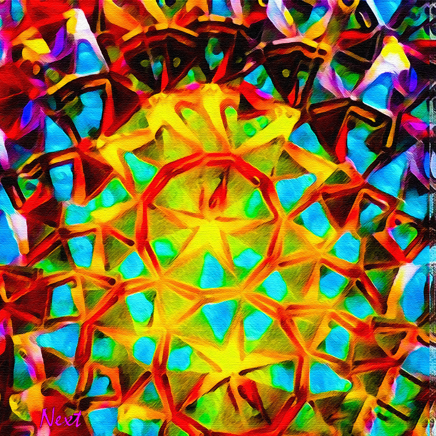 Seen in a Kaleidoscope